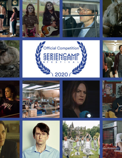Cover Official Competition Seriencamp Festival 2020